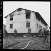 Fire, Basilone homes, Sun valley, 1952
