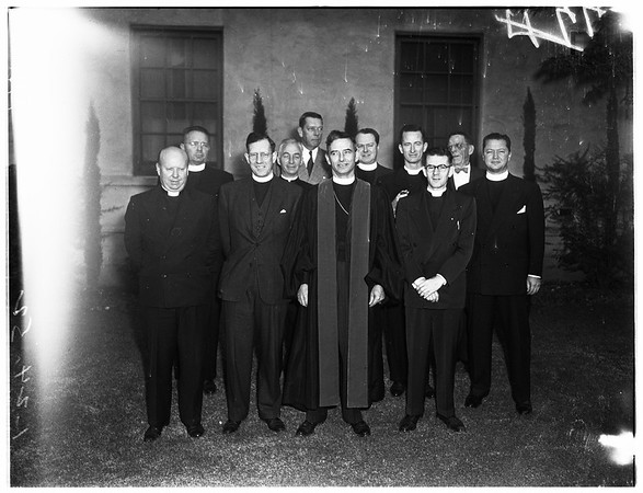 New Officers at Episcopal convention, 1952