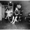 Flooded beauty shop at 17717 Van Owen Boulevard, Reseda, 1952
