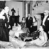 Candlelight ball at Ambassador Hotel, 1951