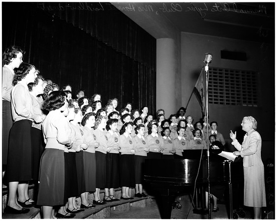 Choral festival, 1952