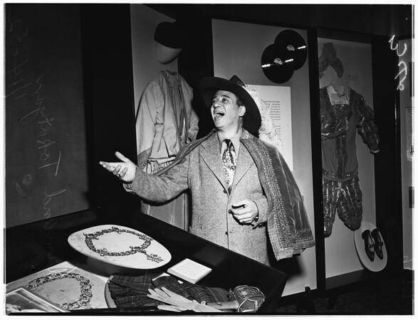 Caruso costumes, 1952.