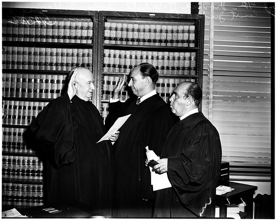 New judge, 1952