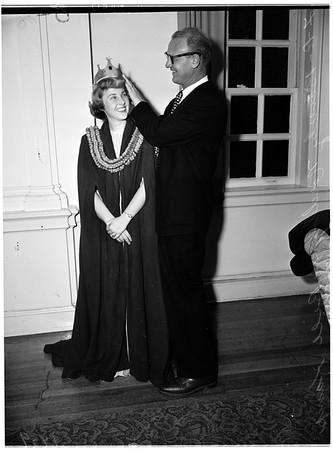 Homecoming queen, 1952