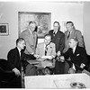 Magner White Series pictures ...Groups of Councilmen who were for and against Federal Housing ...Ed J. Davenport, one of the eight against it, not in picture, 1952