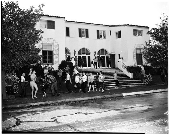 University of California at Los Angeles (UCLA) water fight, 1952