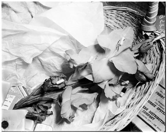 Narcotics bouquet, 1952