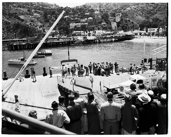 Junior Chamber of Commerce Convention (Catalina Island), 1952.