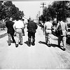 Walter Wanger arrives at Sheriff Honor farm, 1952