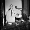 Los Angeles Housing dispute at City Council, 1952