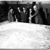 Moon landing (demonstration -- Griffith Park) Observatory, 1952