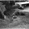 Fallen wall (Cummings Drive), 1952