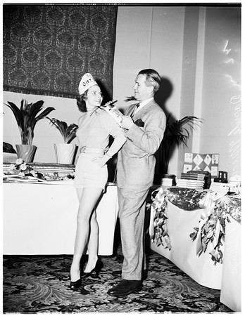 Advertising Club luncheon, 1952
