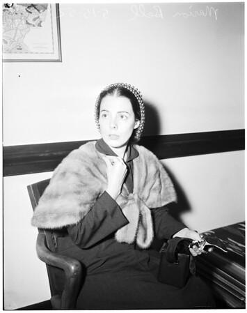 Bell -- Charlesworth divorce, 1952