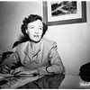 Huntington Park business woman, interview, 1952.