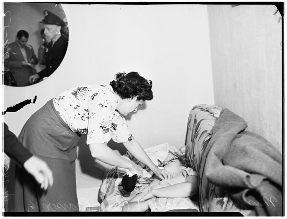 Two girls asphyxiated, 1952