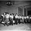 Folk dances at Los Angeles County Museum, 1952