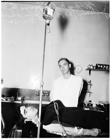 Shooting (9551 Greening Avenue, South Whittier), 1952
