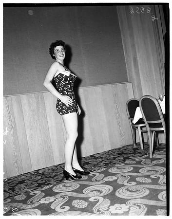 World Trade Week Queen, 1952.