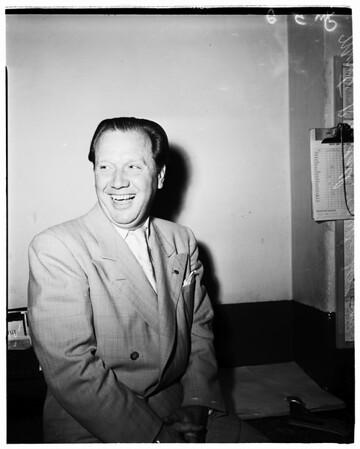 Congress candidate, 1952.