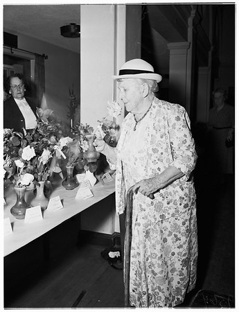 Pacific Rose Show, 1952.
