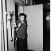 Robber suspect at University Police Station, 1952