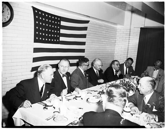 World Trade luncheon in County Jail, 1952.