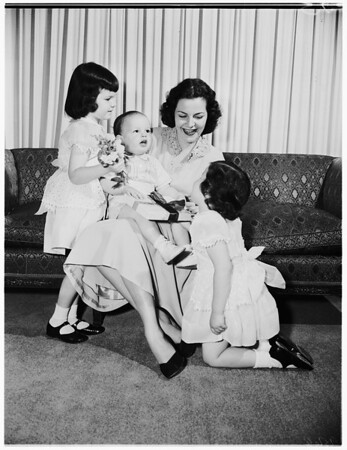 Mother's day, 1952.
