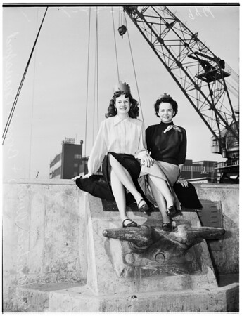 "Shipyard ""Queens"" (Long Beach Navy Shipyard), 1952"