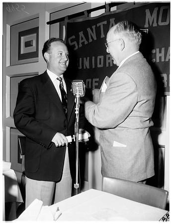 Joe Walling award, 1952