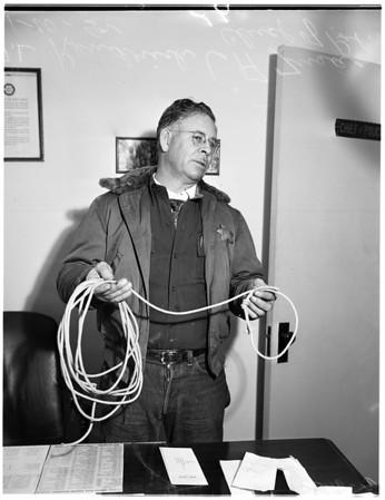 Hanging -- Boy -- Azusa (Roger Humes), 1952