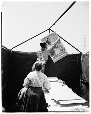 World Trade Week (All Nations Festival), Sportsman Park, 1952.