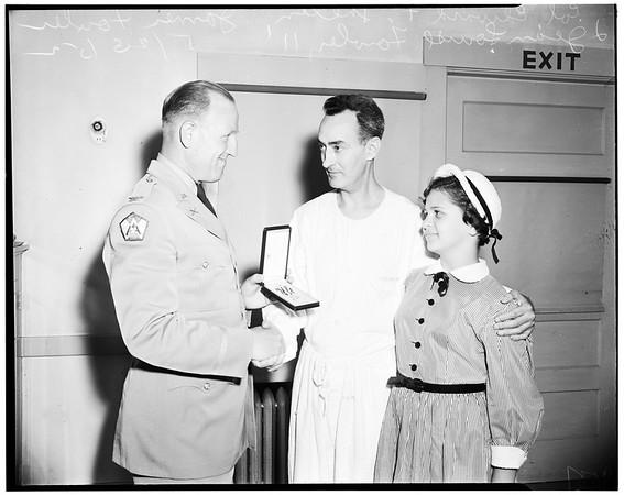 Posthumous Silver Star, 1952