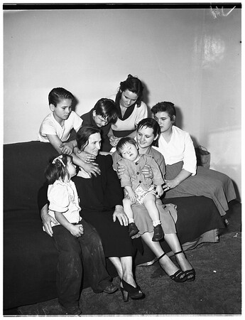 Brink family, 1952