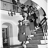 Las Madrinas debutante tea ...at home of Mrs. John W. Chapple (not in picture), 1951