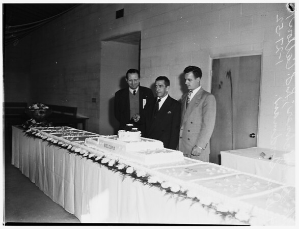 Dedication of United Auto Workers, Ford Division, Local 406, Wilmington,1952