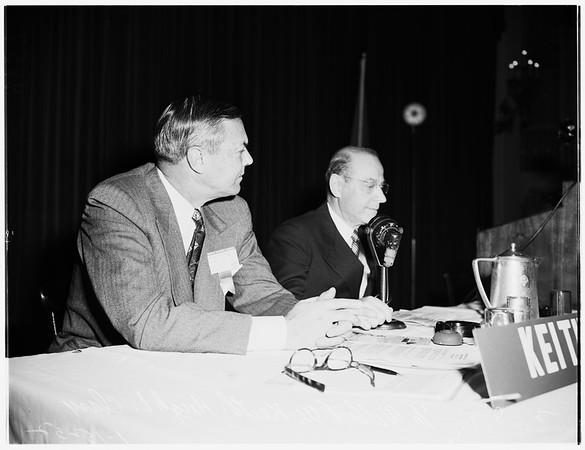 American Management Association (meeting), 1952.