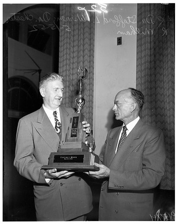 Sigma Tau Sigma Award, National Social Science, 1952