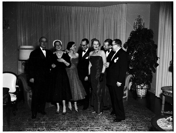 Party given by Mr. and Mrs. Norman Herman, 1951