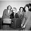 Beta Sigma Phi Sorority presents projector to Exceptional Children's Foundation, 2222 West Adams, 1951