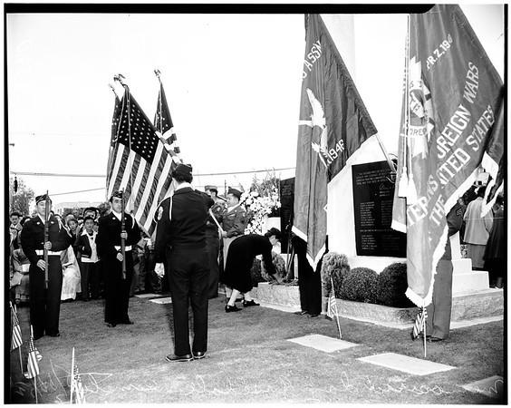 Memorial Day (Rosedale Cemetery), 1952