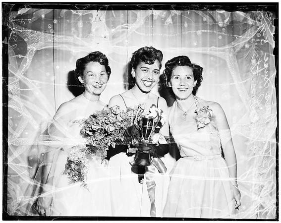 Catholic Youth Organization Girl of the Year, 1952