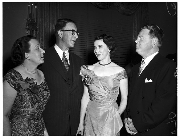 Party for Senator and Mrs. Kefauver, 1951