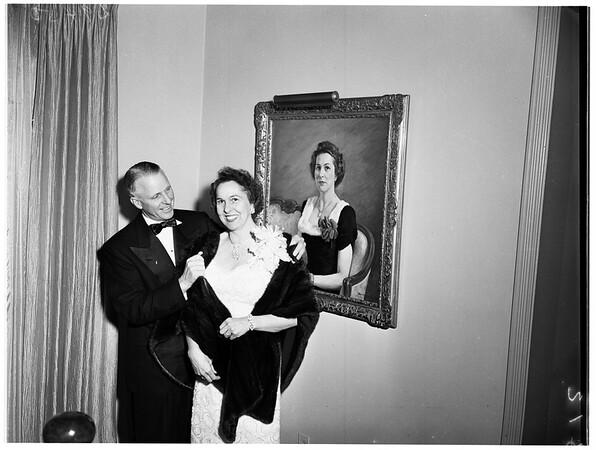 Twenty-fifth wedding anniversary, 1951