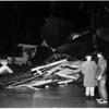 House collapses -- Silver Lake District (Glendale Boulevard and Riverside Drive), 1952
