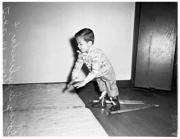March of Dimes ...layout at Orthopaedic Hospital, 1951
