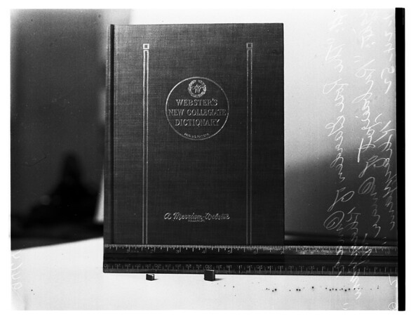 Smallest book in the world, 1952
