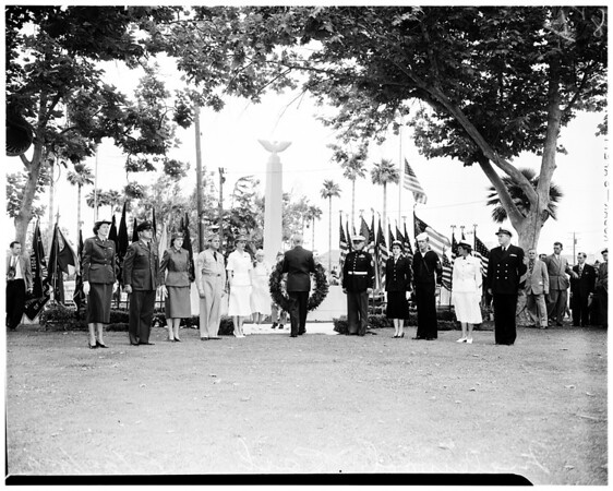 Cemetery services (Inglewood Park), 1952
