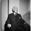 Interview, President of Federation Aeronautique Internationale, 1952.