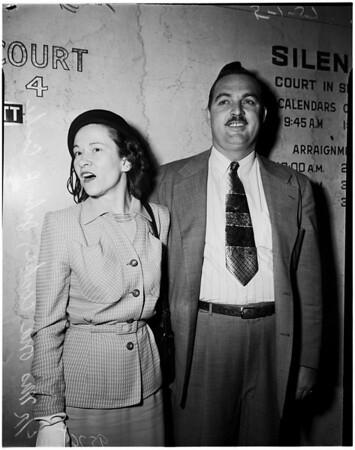Schulz preliminary hearing, 1952